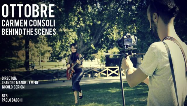 Ottobre - Carmen Consoli (Behind the scenes)