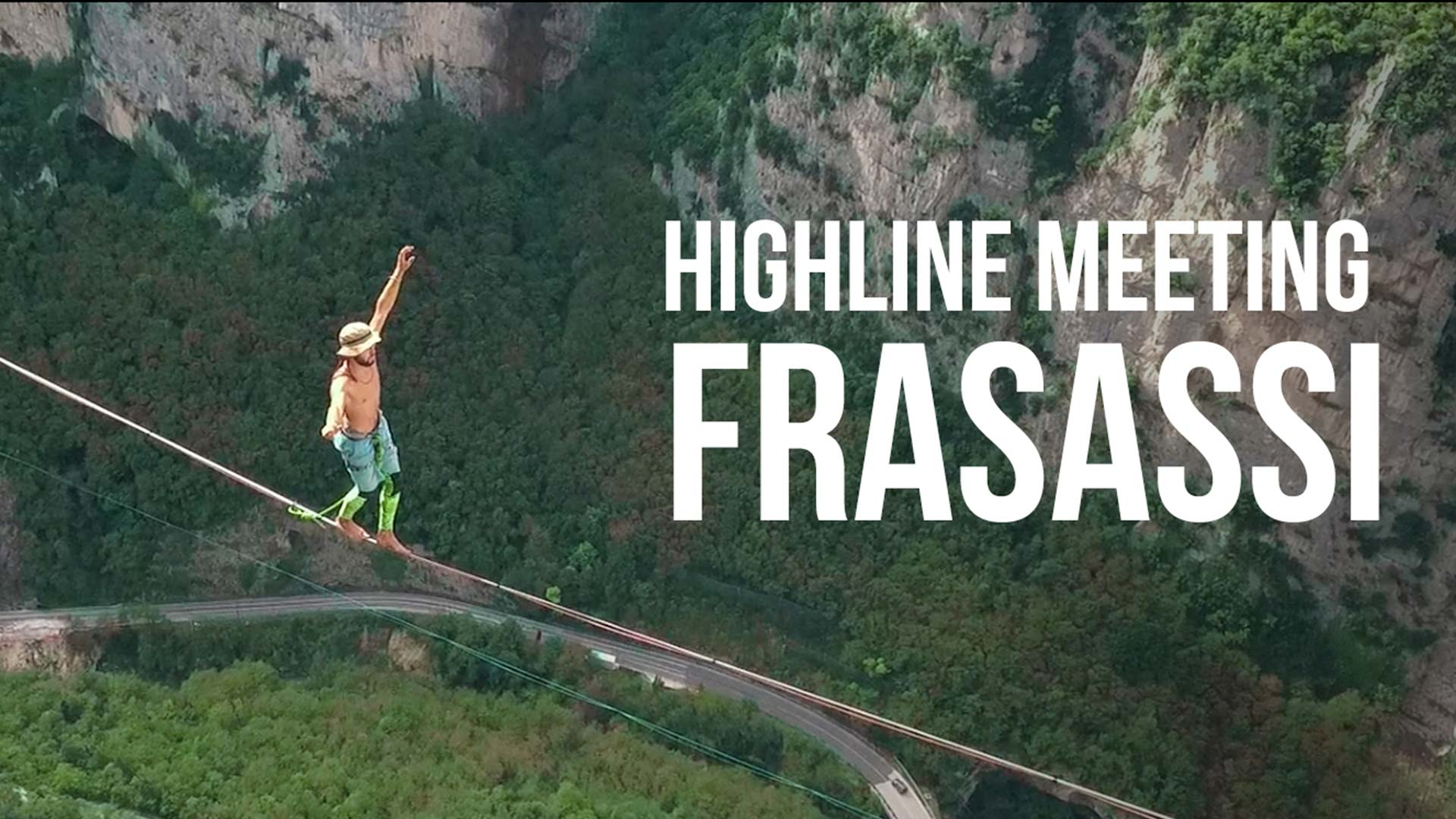 Highline Meeting Frasassi 2016 (meglio tardi che mai!)